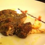 Pesce spada in crosta di erbe - Manueliana ristorante